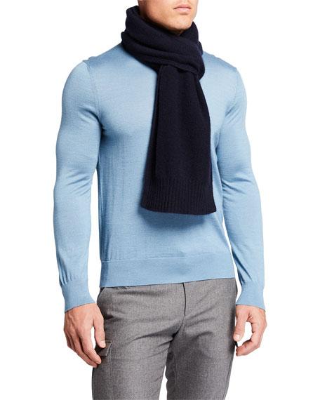 Vince Men's Solid Cashmere Scarf