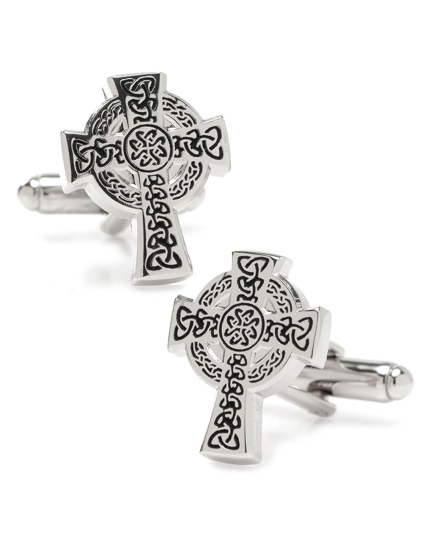 Men's Celtic Cross Cufflinks