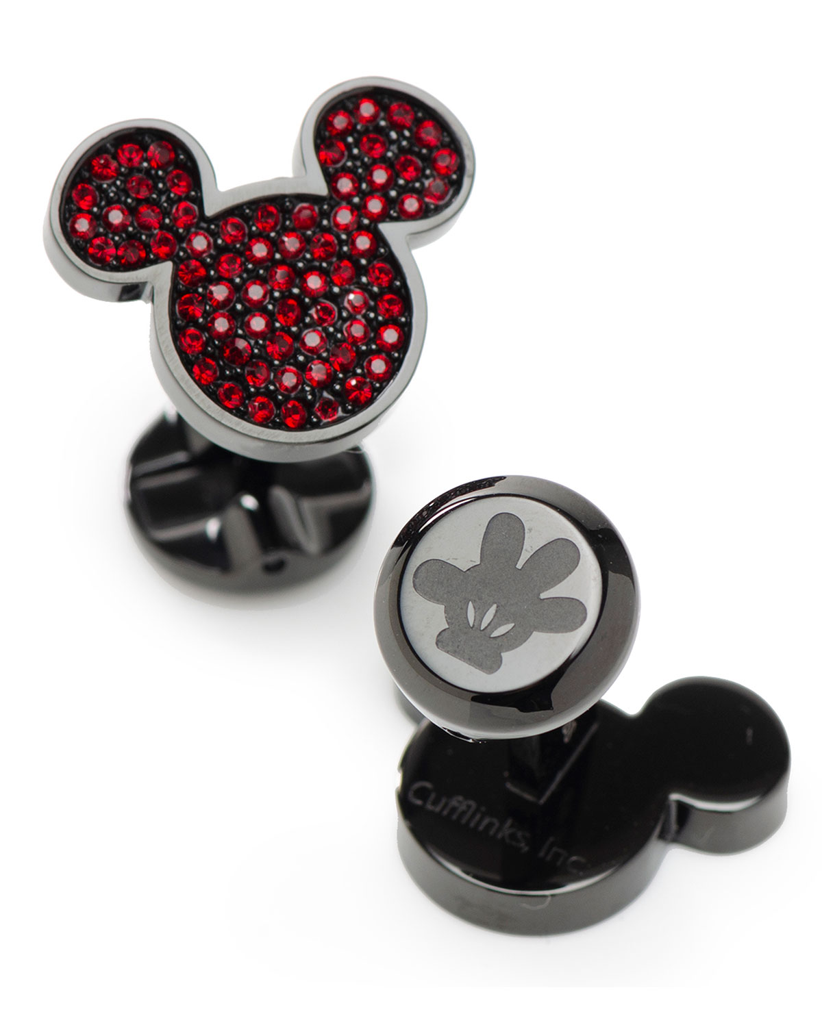 Men's Mickey Mouse Crystal Cufflinks