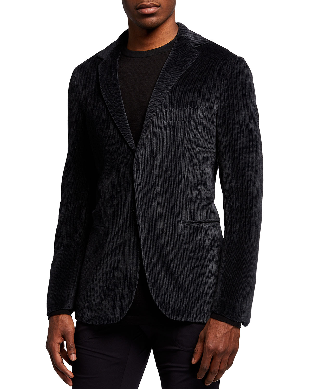 Men's Herringbone Sport Jacket