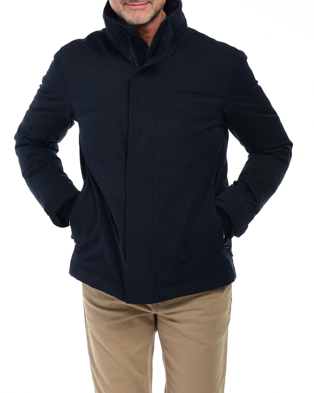 Men's Summit Parka w/ Faux-Fur Removable Hood