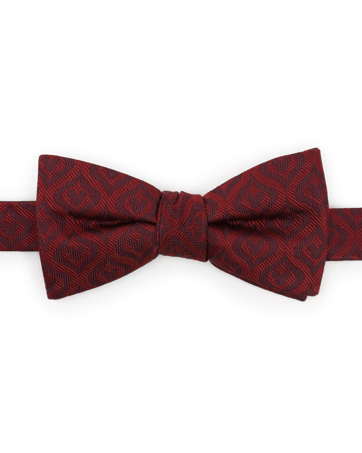 Cufflinks Inc. MEN'S MICKEY MOUSE HOLIDAY SILK BOW TIE