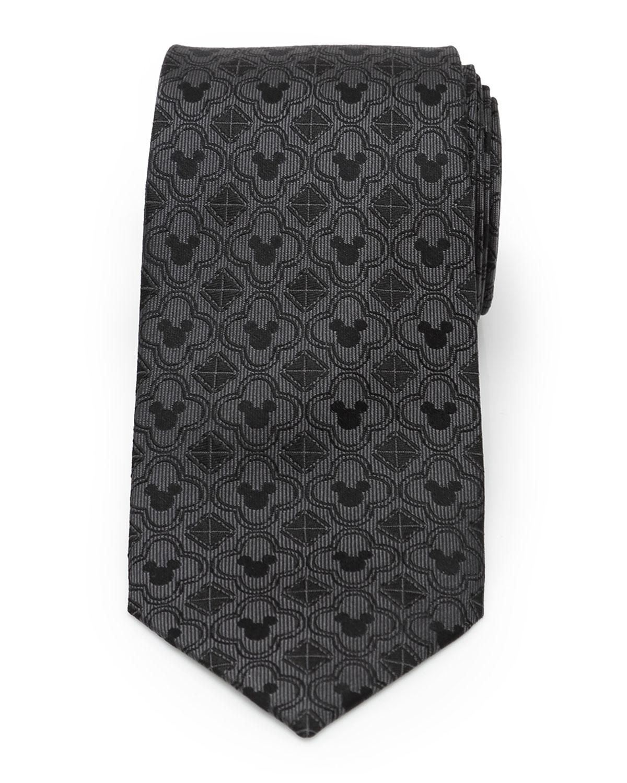 Men's Mickey Mouse Silk Tie