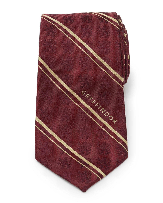 Cufflinks Inc. MEN'S HARRY POTTER GRYFFINDOR SILK TIE
