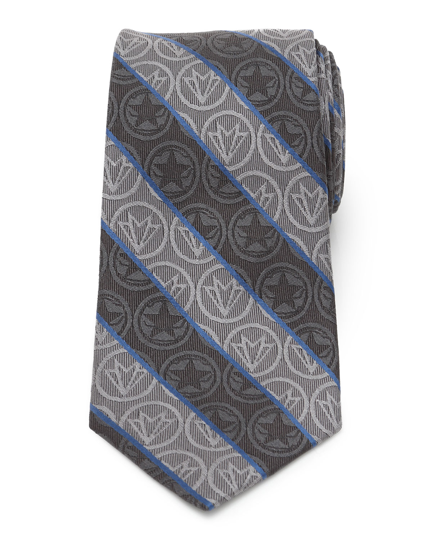 Men's Falcon and Winter Soldier Striped Tie
