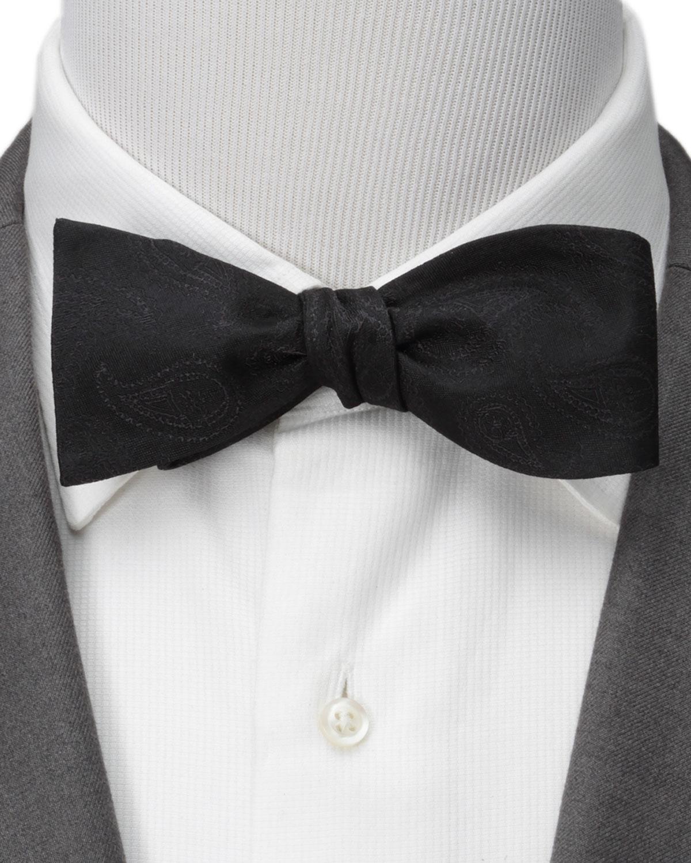 Men's Star Wars Darth Vader Paisley Silk Bow Tie