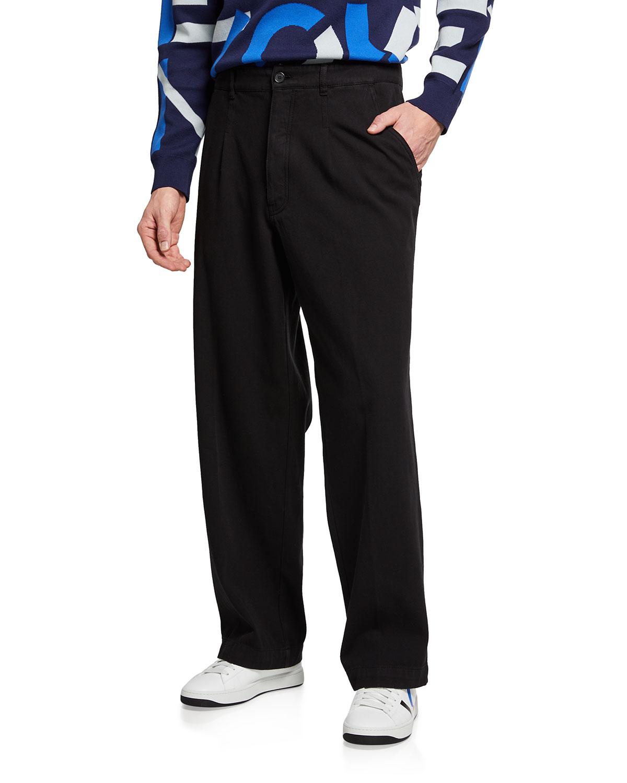 Men's High-Rise Drill Chino Pants