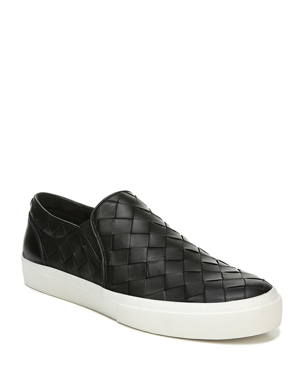 Men's Fletcher 2 Woven Leather Slip-On Sneakers
