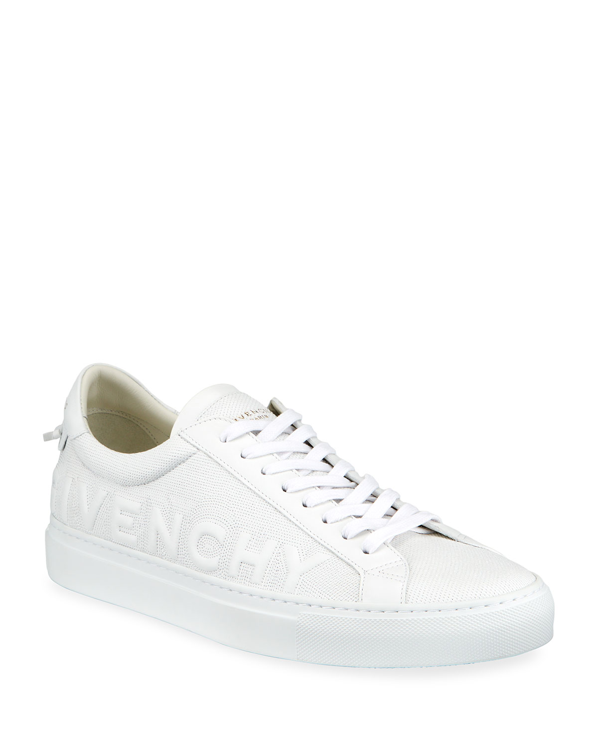 Givenchy MEN'S URBAN STREET TONAL LOGO LOW-TOP SNEAKERS