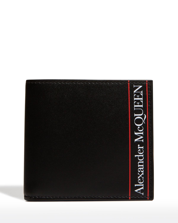 Men's Logo Leather Wallet