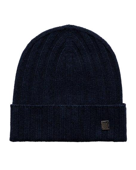 Eton Men's Luxury Knit Beanie Hat