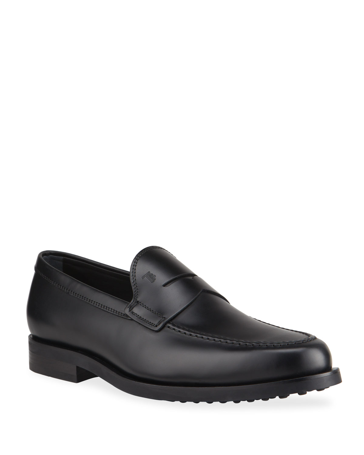 Tod's ZF MOCASSINO LEATHER PENNY LOAFERS