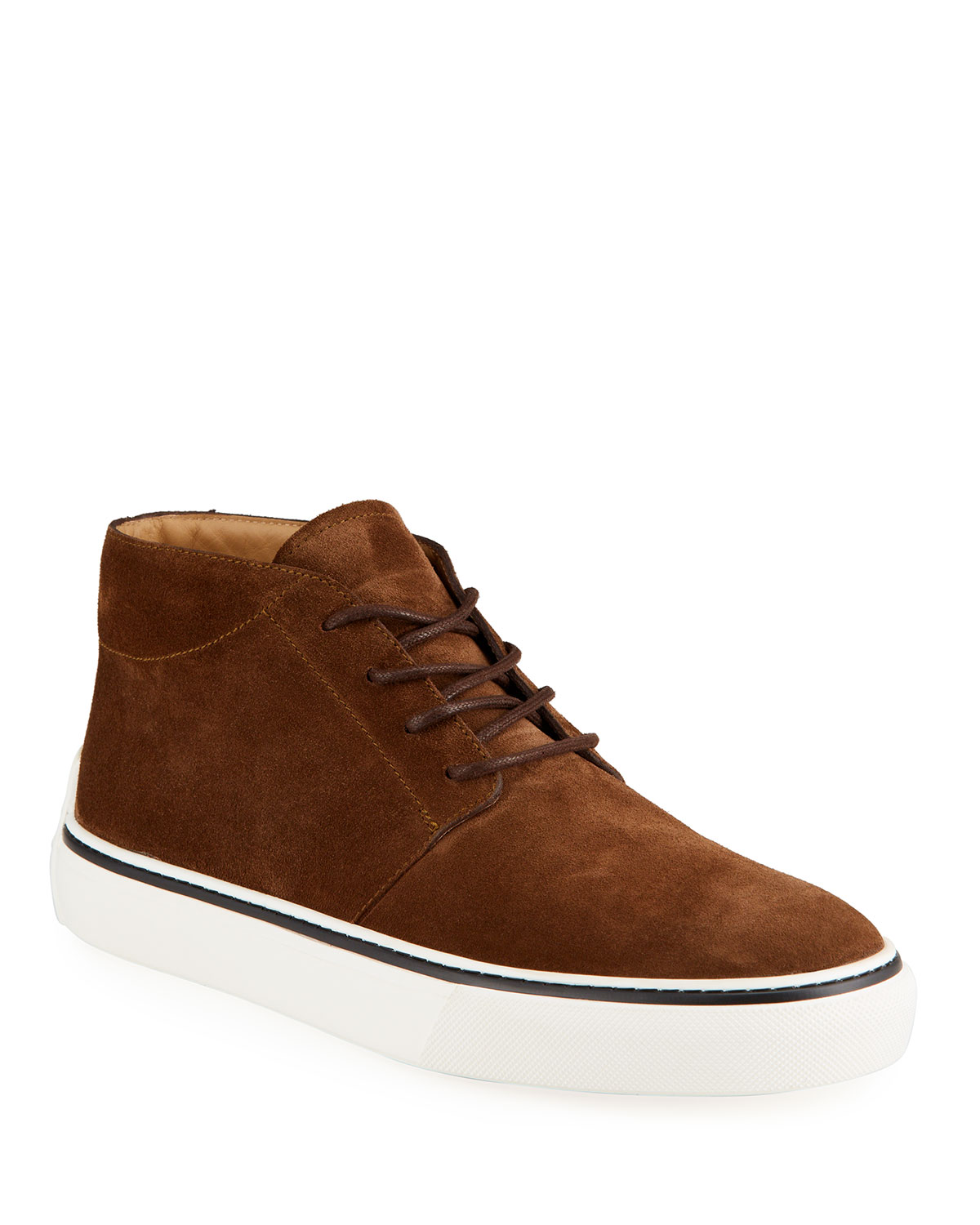 Tod's MEN'S POLACCO SUEDE SNEAKERS