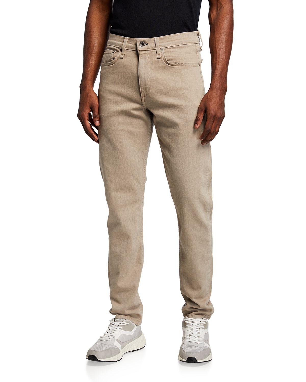 Rag & Bone Jeans MEN'S FIT 2 DYED MID-RISE SLIM-FIT JEANS