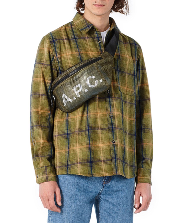 Men's Yarn-Dyed Trek Plaid Shirt