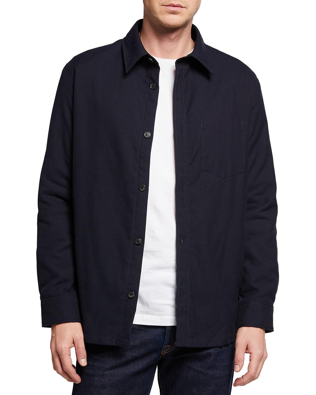 Men's Bill Solid Pocket Sport Shirt