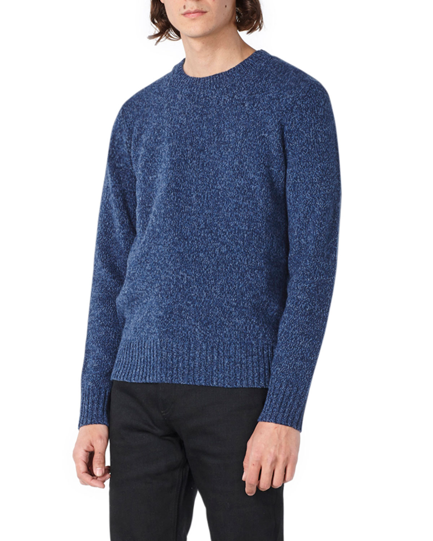 Men's Marcus Multicolor Merino Crewneck Sweater