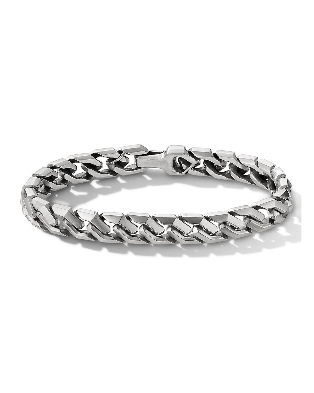 Men's Demascus Curb Chain Bracelet