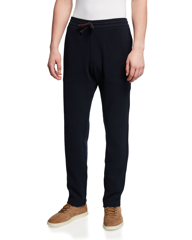 Men's Horsey Cotton Fleece Jogger Pants