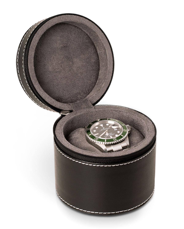 Men's Landon Leather Watch Case