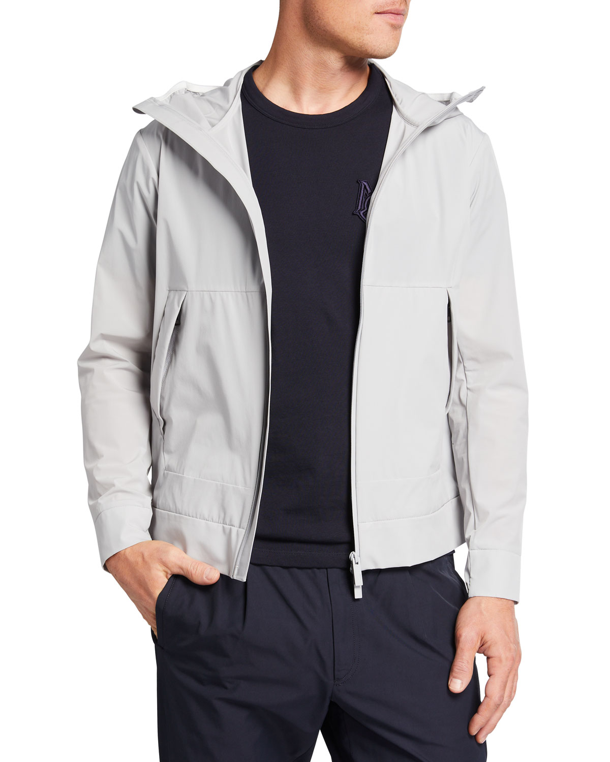 Moncler MEN'S GIVRAY HOODED JACKET