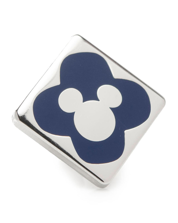 Men's Mickey Mouse Silhouette Lapel Pin