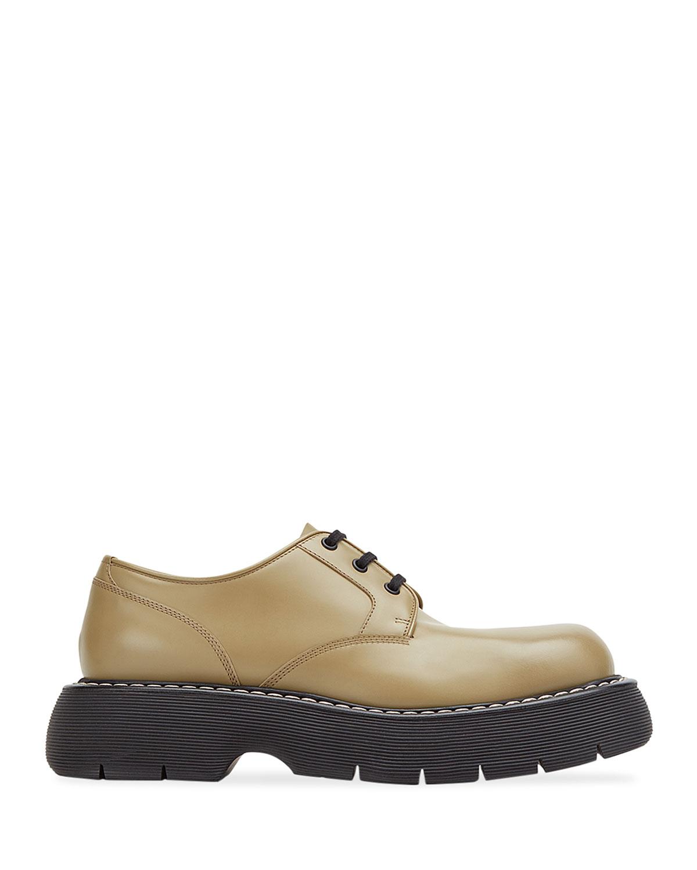 Men's Calf Leather Lace-Up Shoes