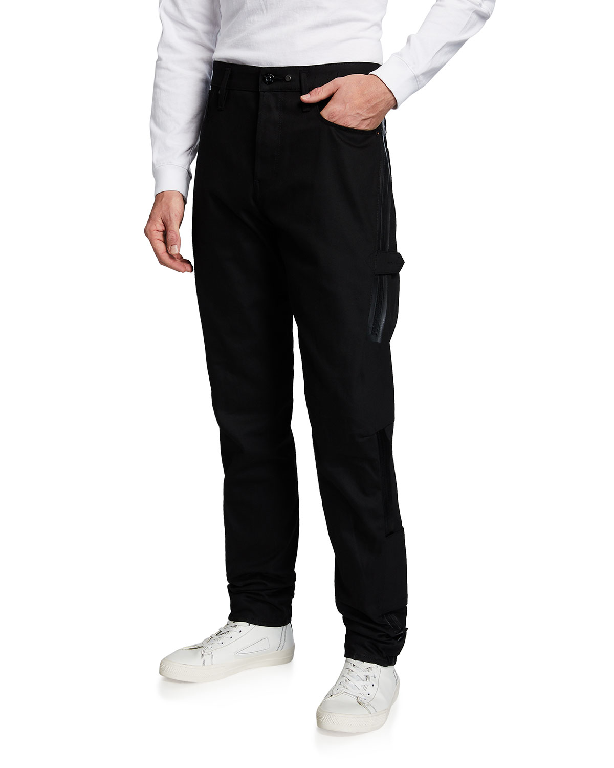 Men's Scutar Tapered High-Rise Jeans