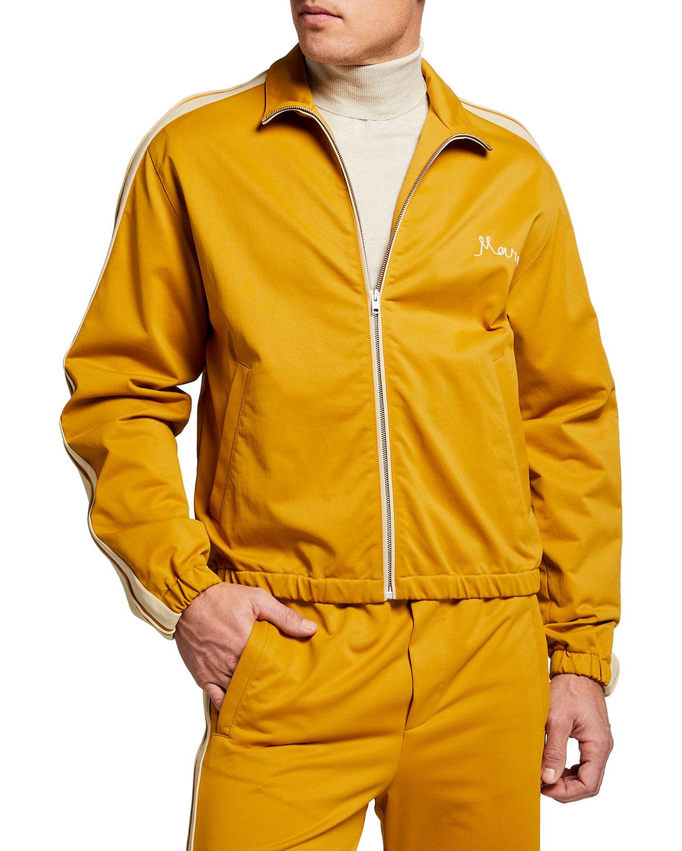 Men's Tech Jersey Track Jacket