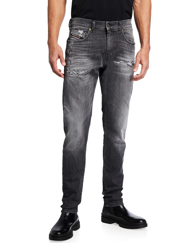 Men's D-Strukt-T Distressed Jeans