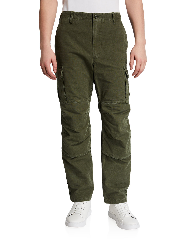 Balenciaga MEN'S SLIM-FIT CARGO PANTS