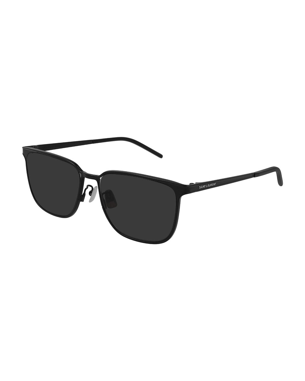 Men's Metal Rectangle Sunglasses
