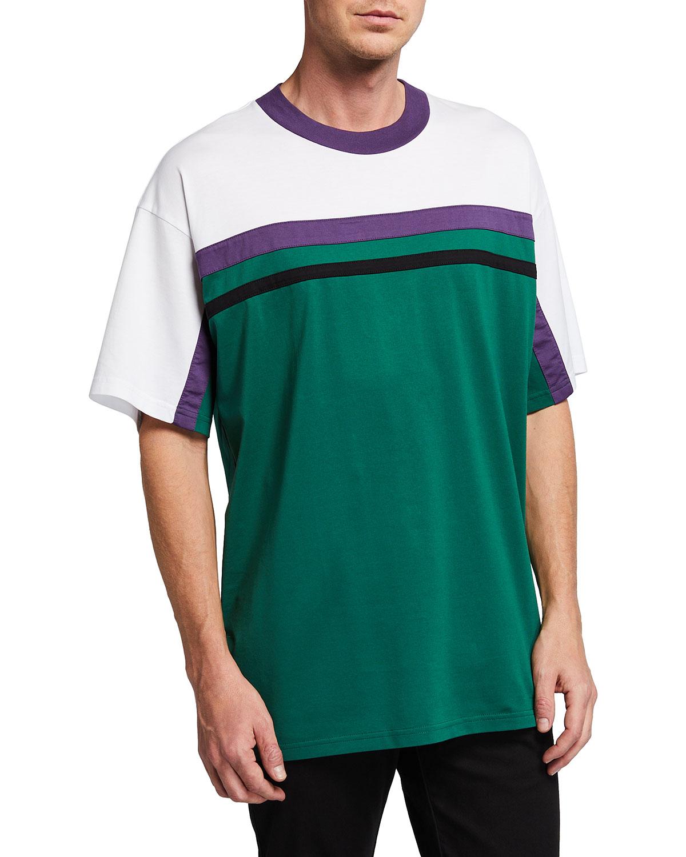 Men's Retro-Stripe T-Shirt
