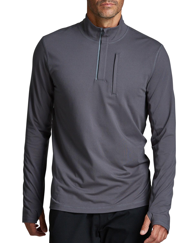 Men's Venture Half-Zip Jersey Sweatshirt