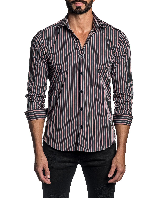 Men's Striped Sport Shirt