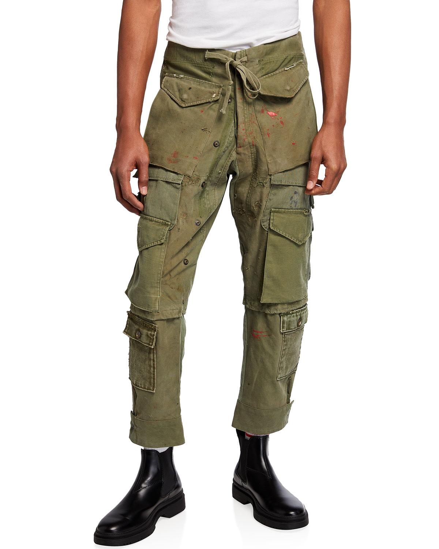 Men's Vintage Army Cargo Pants