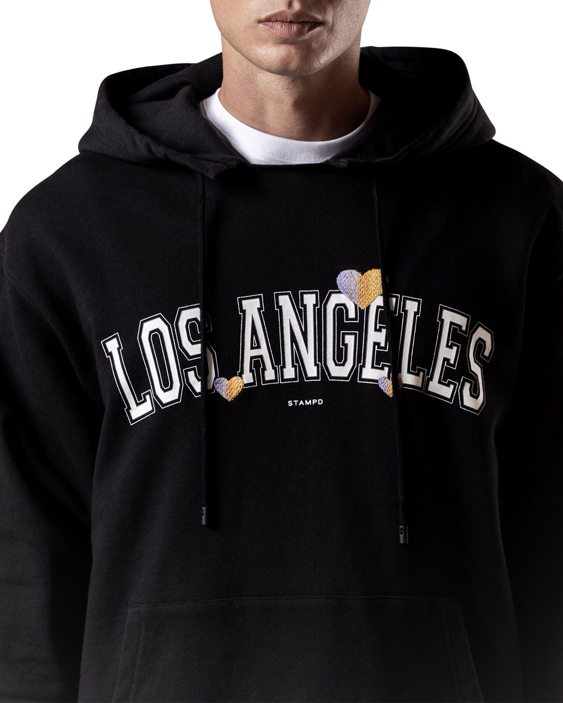 Stampd MEN'S LOS ANGELES LOVE PULLOVER HOODIE