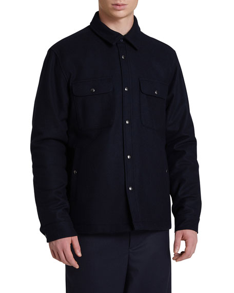 Woolrich Men's Alaskan Quilted Overshirt
