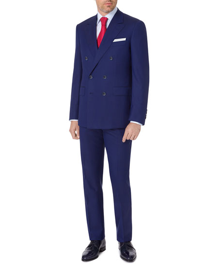 Stefano Ricci Men's Double-Breasted Wool Two-Piece Suit