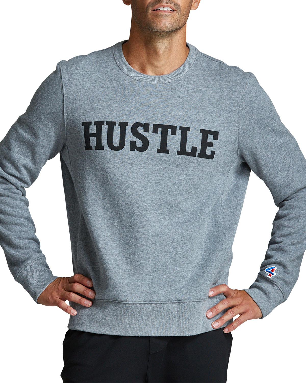 Men's Signature Fleece Hustle Crewneck Sweater