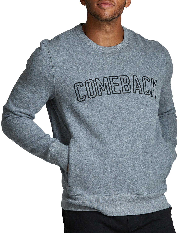 Men's Signature Fleece Comeback Crewneck Sweater