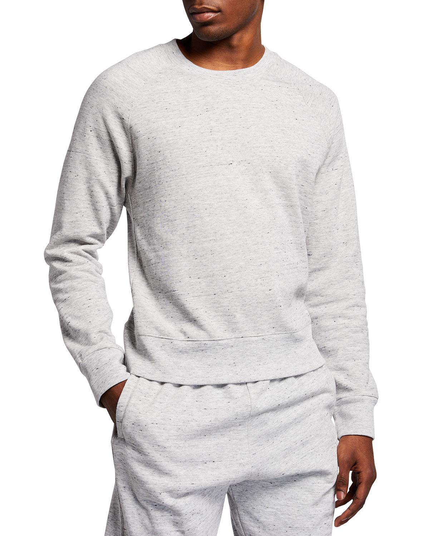 Men's Neps Raglan Heathered Knit Sweatshirt