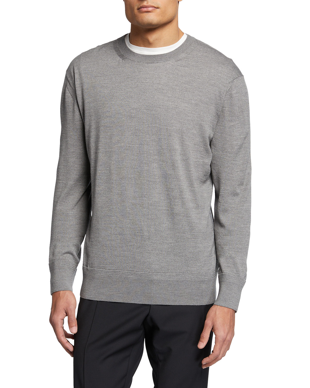 Tom Ford MEN'S SOLID JERSEY STITCH SWEATER