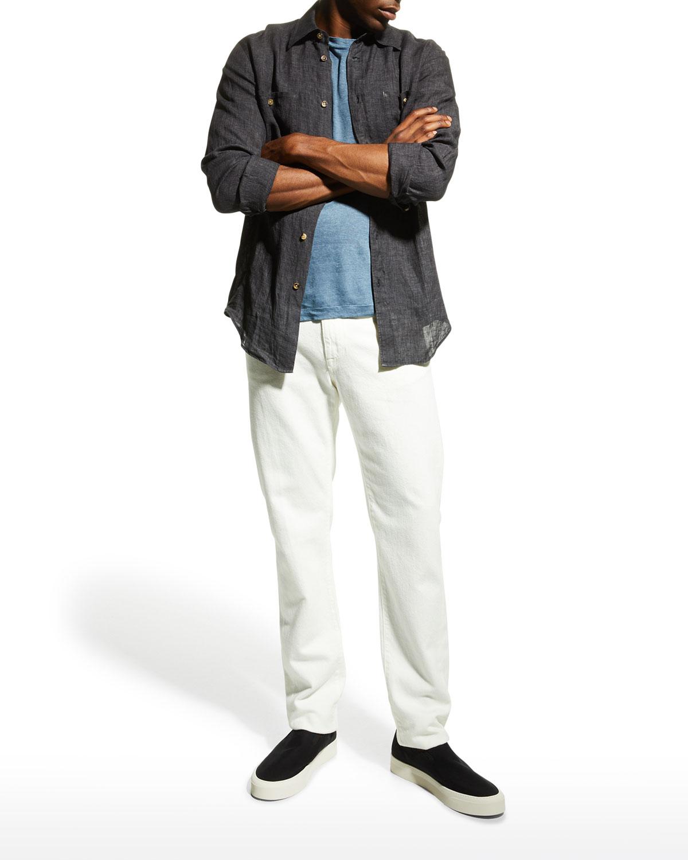 Men's Sahara 2-Pocket Linen Sport Shirt