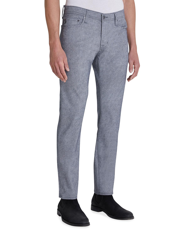 Men's Tellis Sud Cotton-Blend Slim-Leg Pants