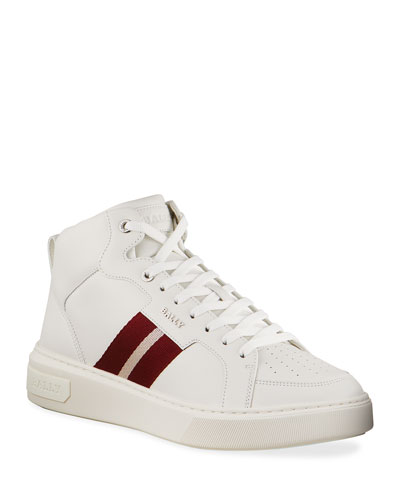 Men's Myles 07 Trainspotting Leather High-Top Sneakers