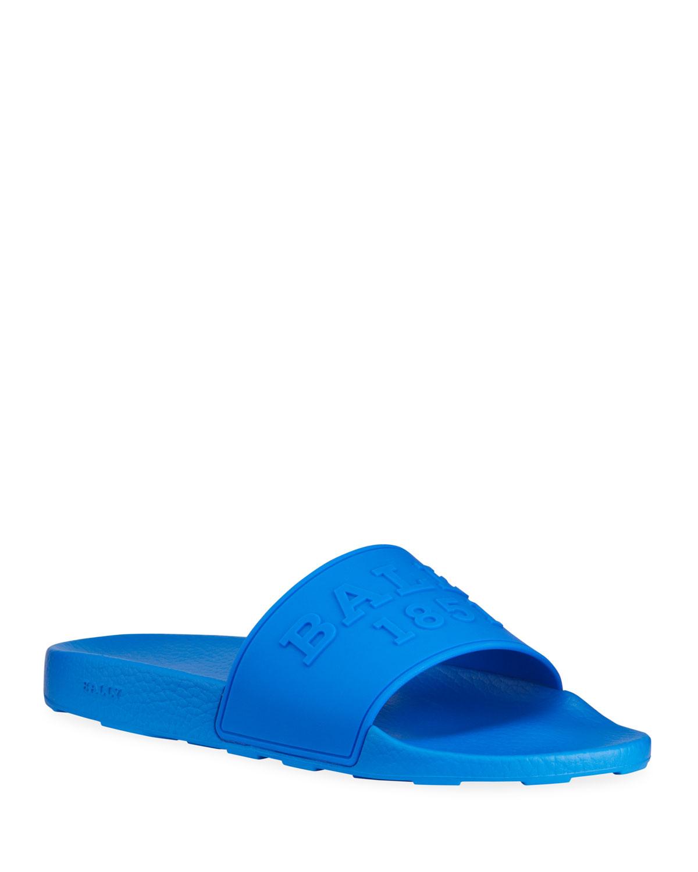 Men's Slaim 16 Logo Pool Slide Sandals