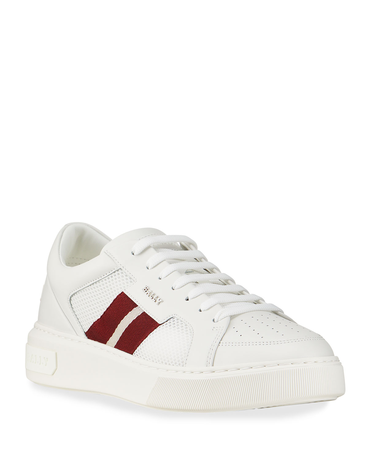 Men's Melyst 07 Trainspotting Mesh & Leather Low-Top Sneakers