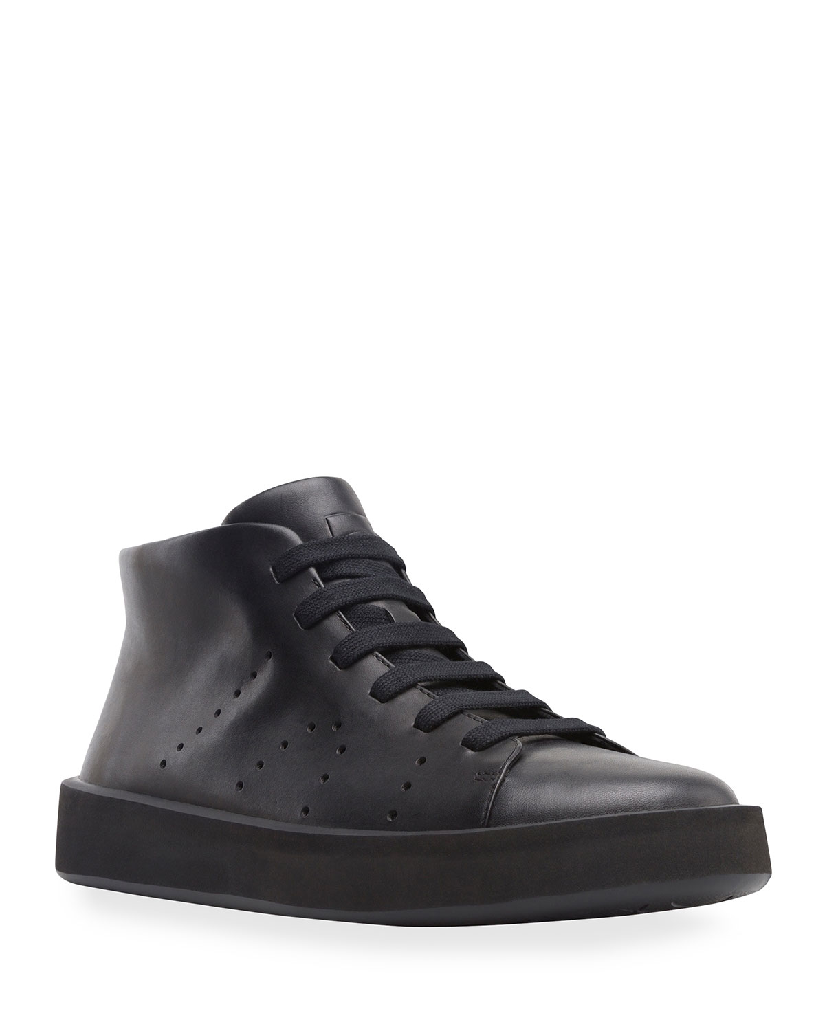 Camper MEN'S COURB LEATHER BOOT SNEAKERS