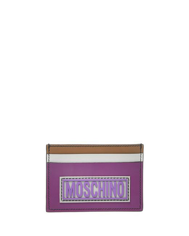 Men's Tricolor Leather Card Case